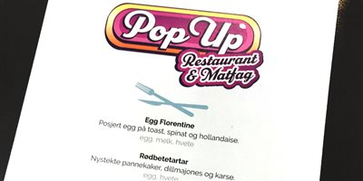 Pop Up Restaurant & Matfag