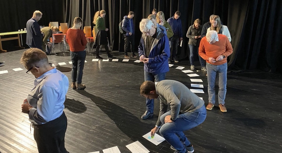 30 personer deltar på workshop